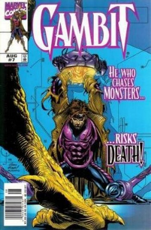 Cover of Gambit (Vol 1) #7. One of 250,000 Vintage American Comics on sale from Krypton!