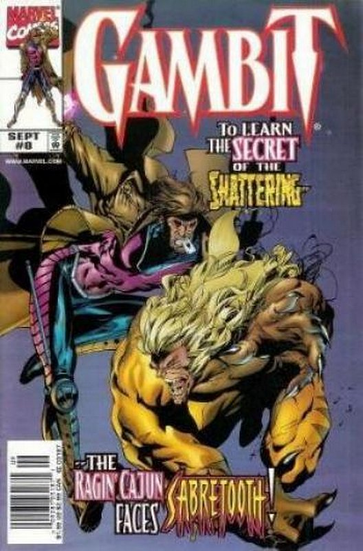 Cover of Gambit (Vol 1) #8. One of 250,000 Vintage American Comics on sale from Krypton!