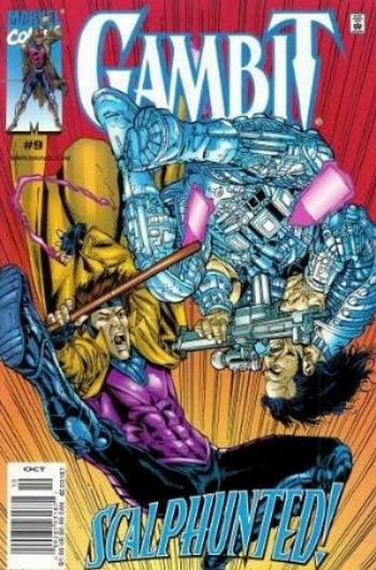 Cover of Gambit (Vol 1) #9. One of 250,000 Vintage American Comics on sale from Krypton!