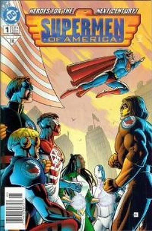 Cover of Supermen of America (1999 One Shot) #1. One of 250,000 Vintage American Comics on sale from Krypton!