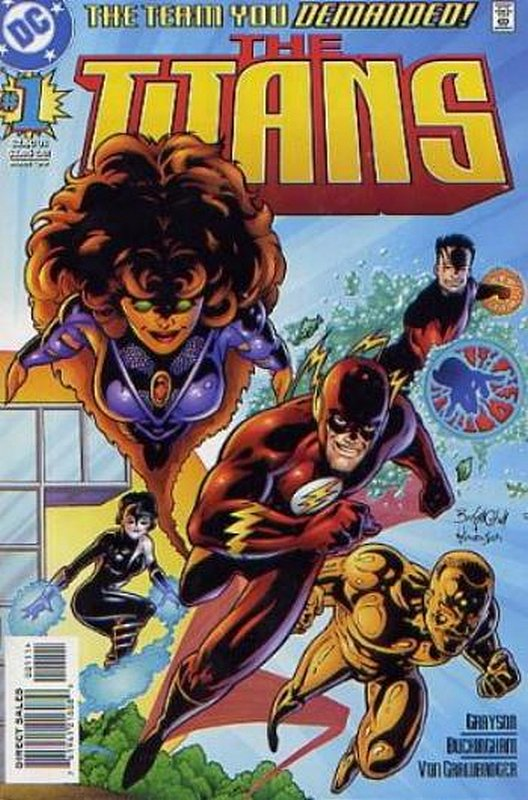 Cover of Titans (Vol 1) The #1. One of 250,000 Vintage American Comics on sale from Krypton!