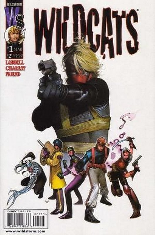 Cover of WildCATS (Vol 2) #1. One of 250,000 Vintage American Comics on sale from Krypton!