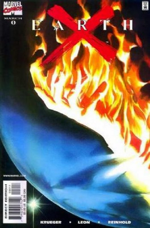 Cover of Earth X (1999 Ltd) #0. One of 250,000 Vintage American Comics on sale from Krypton!