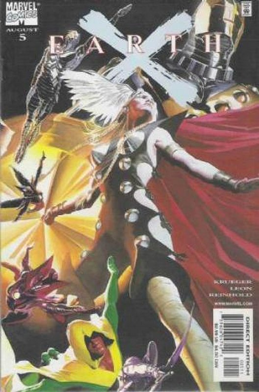 Cover of Earth X (1999 Ltd) #5. One of 250,000 Vintage American Comics on sale from Krypton!