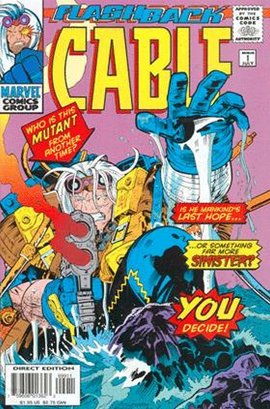Cover of Cable (Vol 1) #-1. One of 250,000 Vintage American Comics on sale from Krypton!