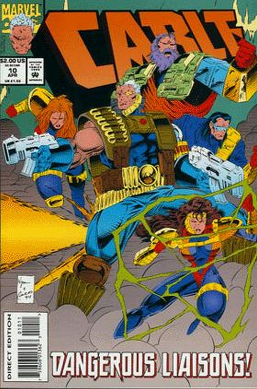 Cover of Cable (Vol 1) #10. One of 250,000 Vintage American Comics on sale from Krypton!