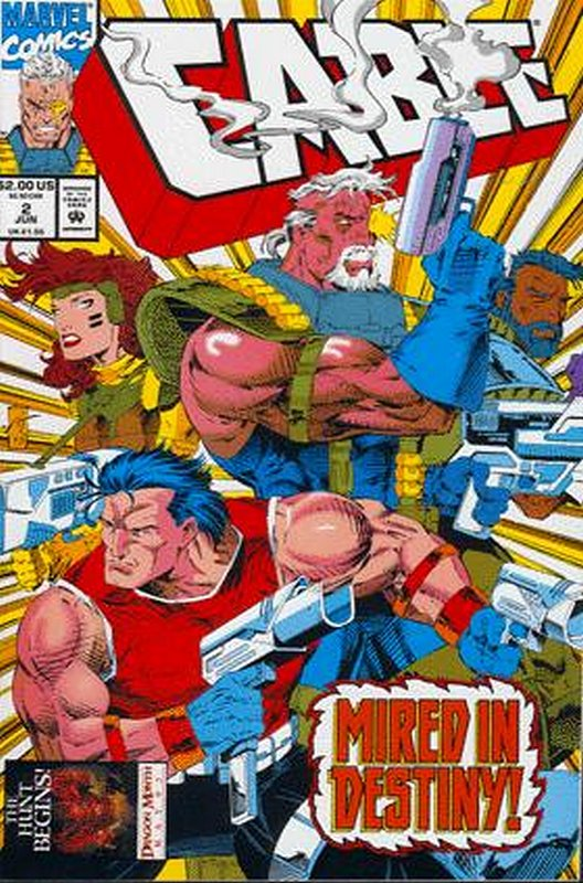 Cover of Cable (Vol 1) #2. One of 250,000 Vintage American Comics on sale from Krypton!