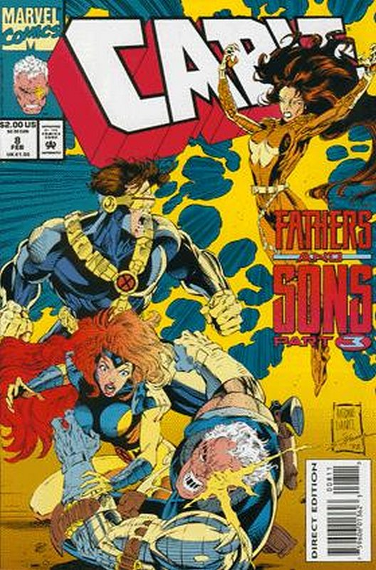 Cover of Cable (Vol 1) #8. One of 250,000 Vintage American Comics on sale from Krypton!