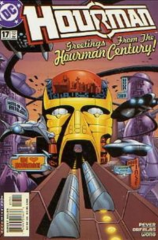 Cover of Hourman #17. One of 250,000 Vintage American Comics on sale from Krypton!