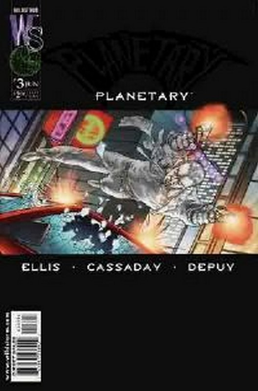 Cover of Planetary (Vol 1) #3. One of 250,000 Vintage American Comics on sale from Krypton!
