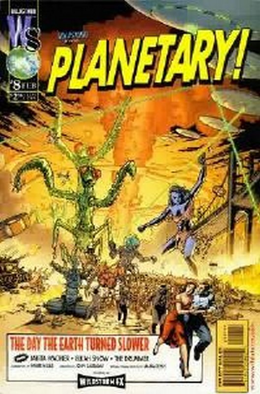 Cover of Planetary (Vol 1) #8. One of 250,000 Vintage American Comics on sale from Krypton!