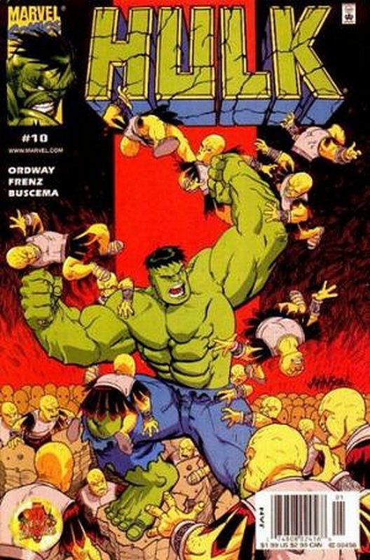 Cover of Incredible Hulk (Vol 3) #10. One of 250,000 Vintage American Comics on sale from Krypton!