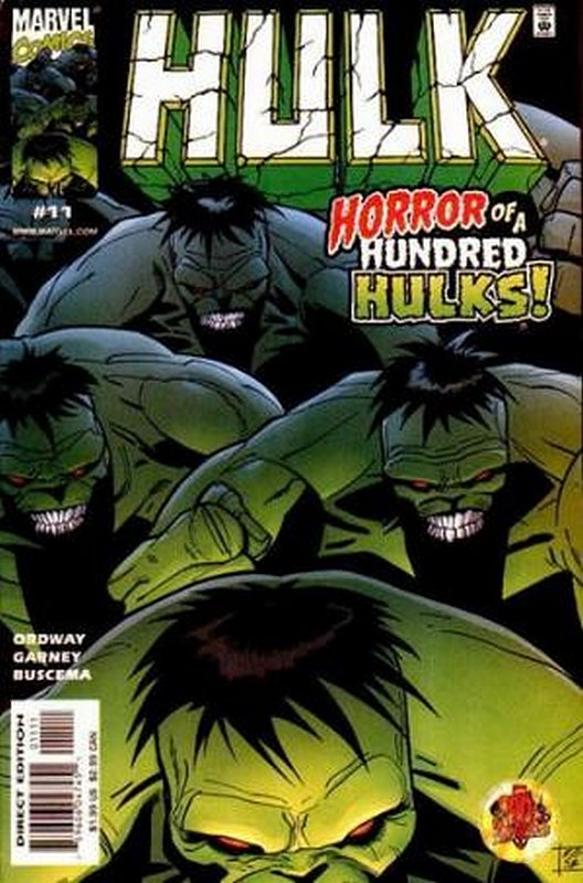 Cover of Incredible Hulk (Vol 3) #11. One of 250,000 Vintage American Comics on sale from Krypton!