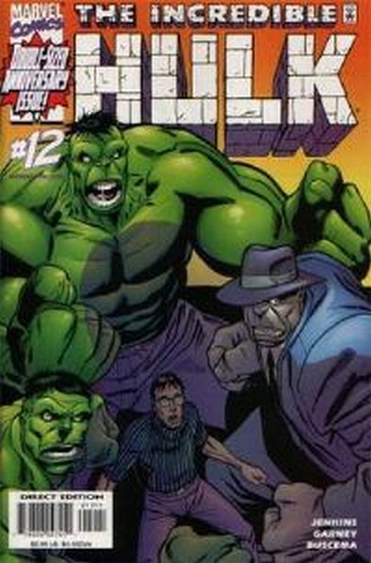 Cover of Incredible Hulk (Vol 3) #12. One of 250,000 Vintage American Comics on sale from Krypton!