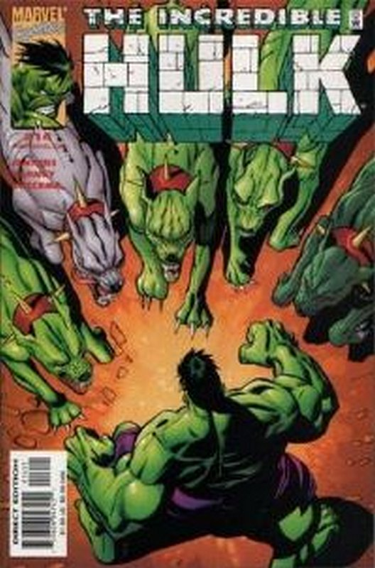 Cover of Incredible Hulk (Vol 3) #14. One of 250,000 Vintage American Comics on sale from Krypton!