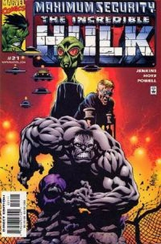 Cover of Incredible Hulk (Vol 3) #21. One of 250,000 Vintage American Comics on sale from Krypton!