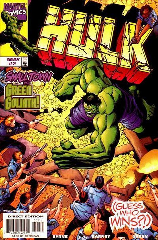 Cover of Incredible Hulk (Vol 3) #2. One of 250,000 Vintage American Comics on sale from Krypton!