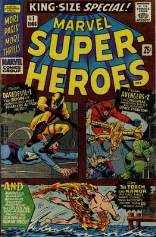 Cover of Marvel Super-Heroes Special (1966 One Shot) #1. One of 250,000 Vintage American Comics on sale from Krypton!