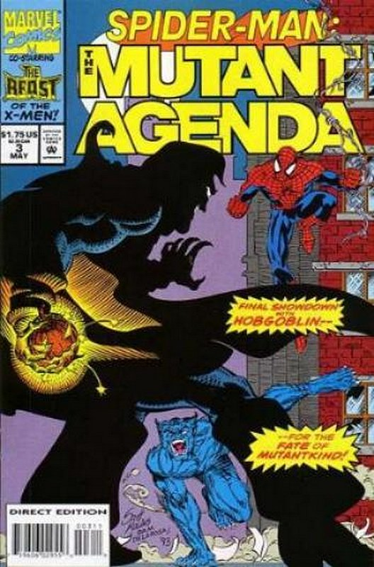 Cover of Spider-Man: The Mutant Agenda (1994 Ltd) #3. One of 250,000 Vintage American Comics on sale from Krypton!