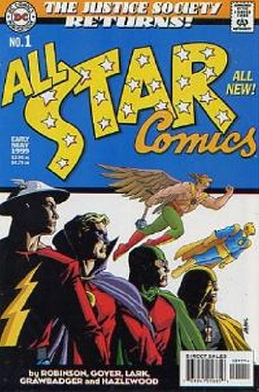 Cover of All-Star Comics (1999 Ltd) #1. One of 250,000 Vintage American Comics on sale from Krypton!