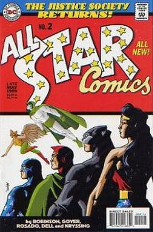 Cover of All-Star Comics (1999 Ltd) #2. One of 250,000 Vintage American Comics on sale from Krypton!