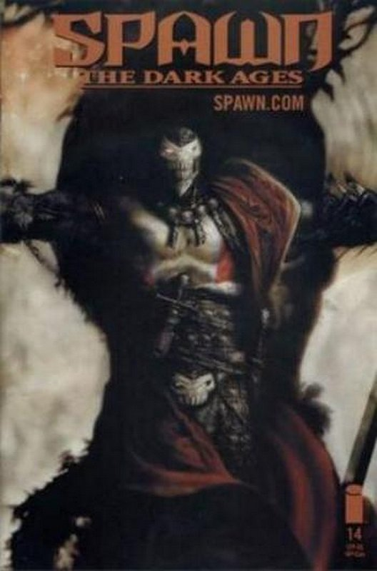 Cover of Spawn Dark Ages #14. One of 250,000 Vintage American Comics on sale from Krypton!