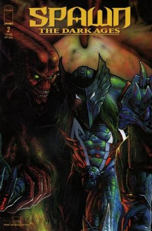 Cover of Spawn Dark Ages #2. One of 250,000 Vintage American Comics on sale from Krypton!
