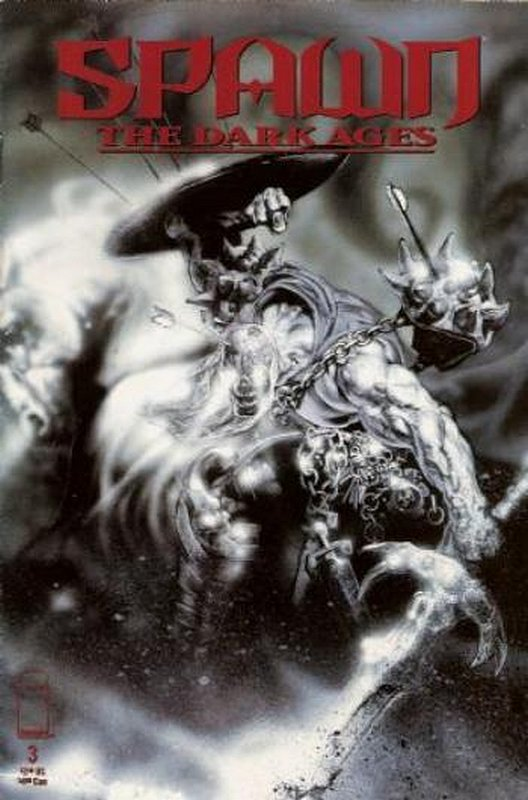 Cover of Spawn Dark Ages #3. One of 250,000 Vintage American Comics on sale from Krypton!