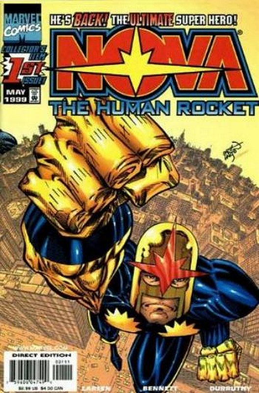 Cover of Nova (Vol 3) #1. One of 250,000 Vintage American Comics on sale from Krypton!