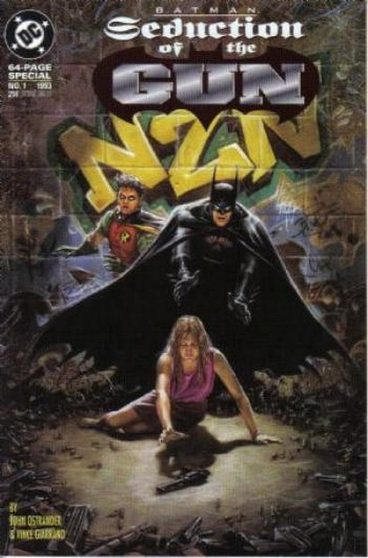 Cover of Batman: Seduction of the Gun (1993 One Shot) #1. One of 250,000 Vintage American Comics on sale from Krypton!