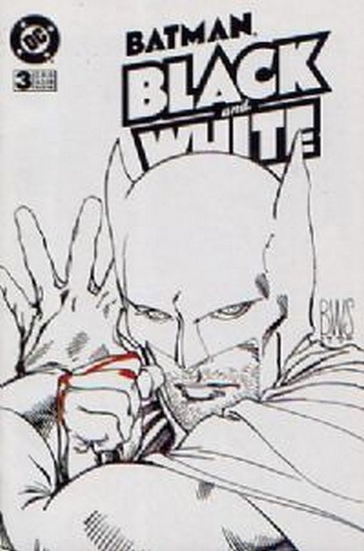 Cover of Batman: Black & White (1996 Ltd) #3. One of 250,000 Vintage American Comics on sale from Krypton!
