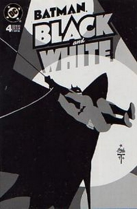 Cover of Batman: Black & White (1996 Ltd) #4. One of 250,000 Vintage American Comics on sale from Krypton!