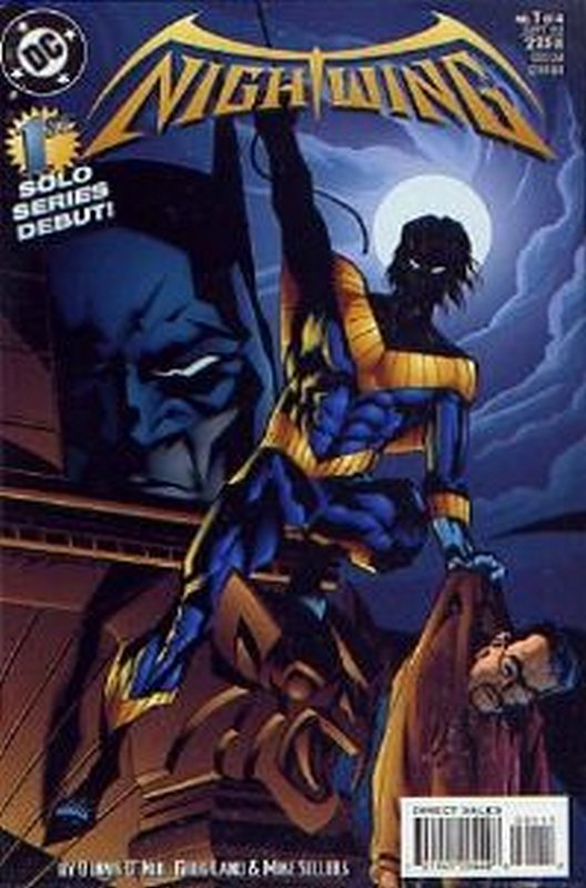 Cover of Nightwing (1995 Ltd) #1. One of 250,000 Vintage American Comics on sale from Krypton!