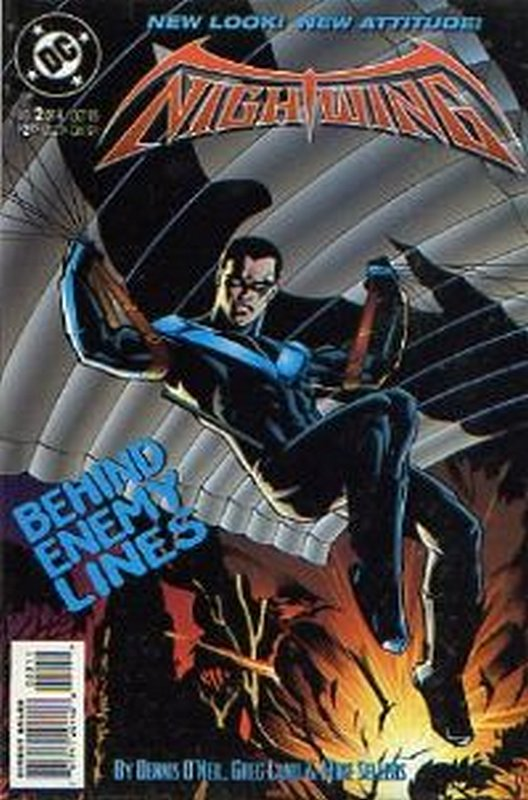 Cover of Nightwing (1995 Ltd) #2. One of 250,000 Vintage American Comics on sale from Krypton!