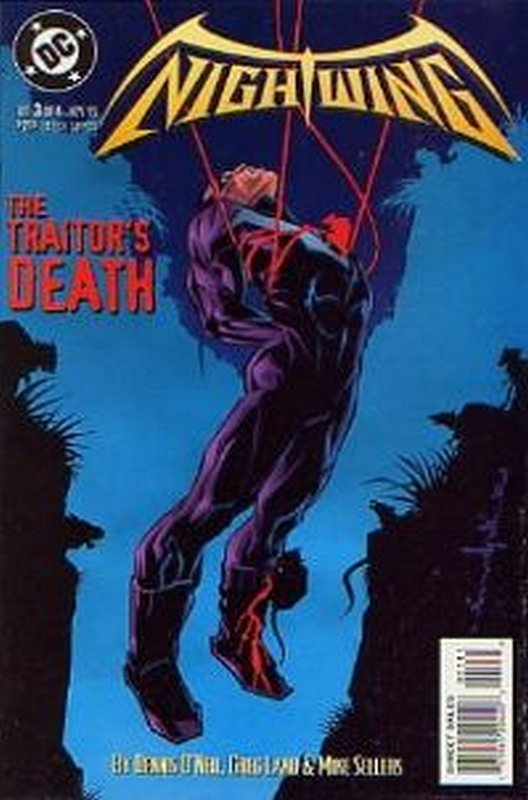 Cover of Nightwing (1995 Ltd) #3. One of 250,000 Vintage American Comics on sale from Krypton!