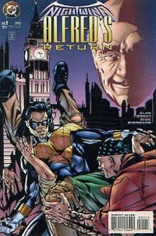 Cover of Nightwing Alfreds Return (1995 One Shot) #1. One of 250,000 Vintage American Comics on sale from Krypton!