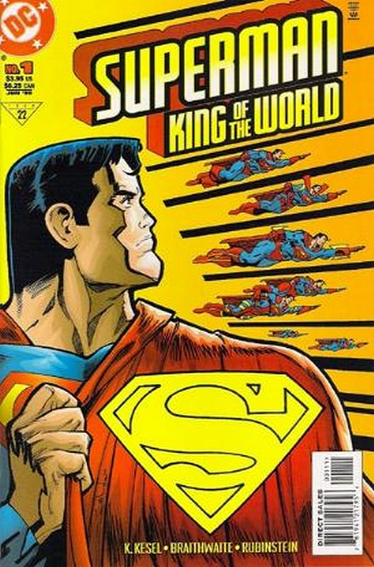 Cover of Superman: King of the World (1999 One Shot) #1. One of 250,000 Vintage American Comics on sale from Krypton!