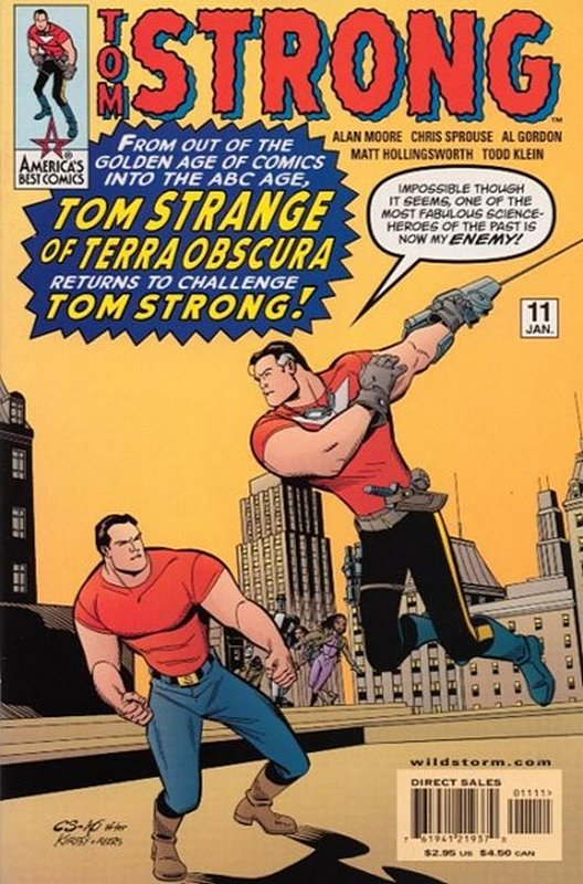 Cover of Tom Strong (Vol 1) #11. One of 250,000 Vintage American Comics on sale from Krypton!