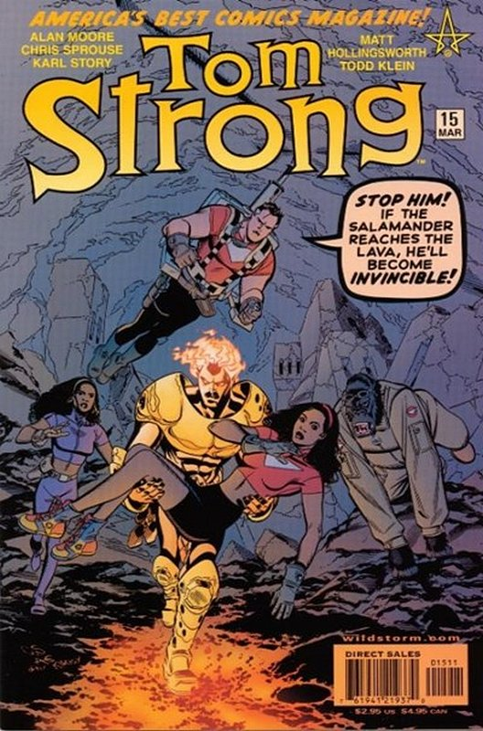 Cover of Tom Strong (Vol 1) #15. One of 250,000 Vintage American Comics on sale from Krypton!