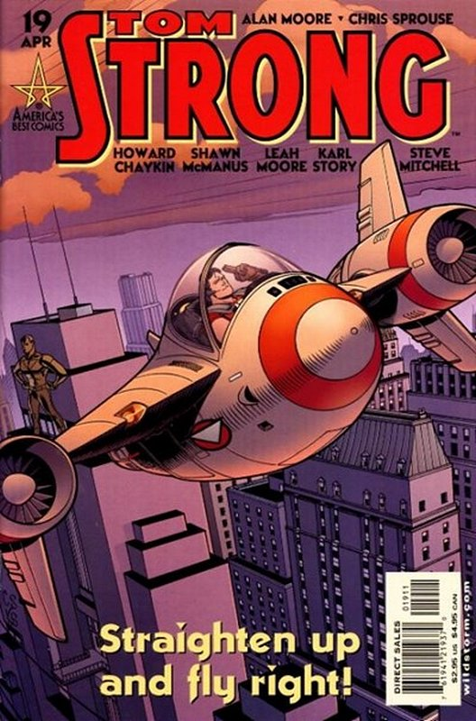 Cover of Tom Strong (Vol 1) #19. One of 250,000 Vintage American Comics on sale from Krypton!