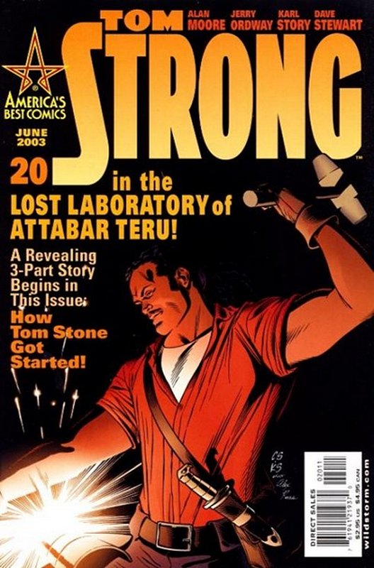 Cover of Tom Strong (Vol 1) #20. One of 250,000 Vintage American Comics on sale from Krypton!