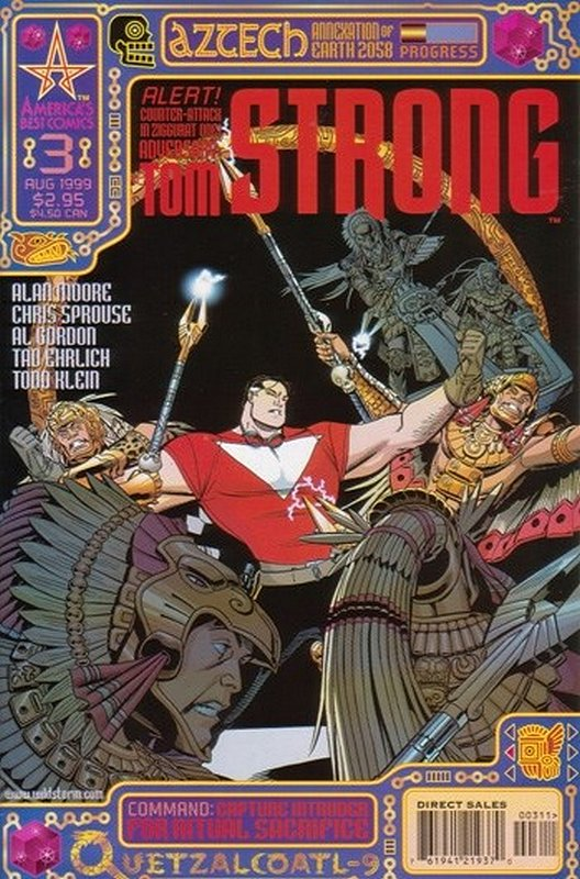 Cover of Tom Strong (Vol 1) #3. One of 250,000 Vintage American Comics on sale from Krypton!