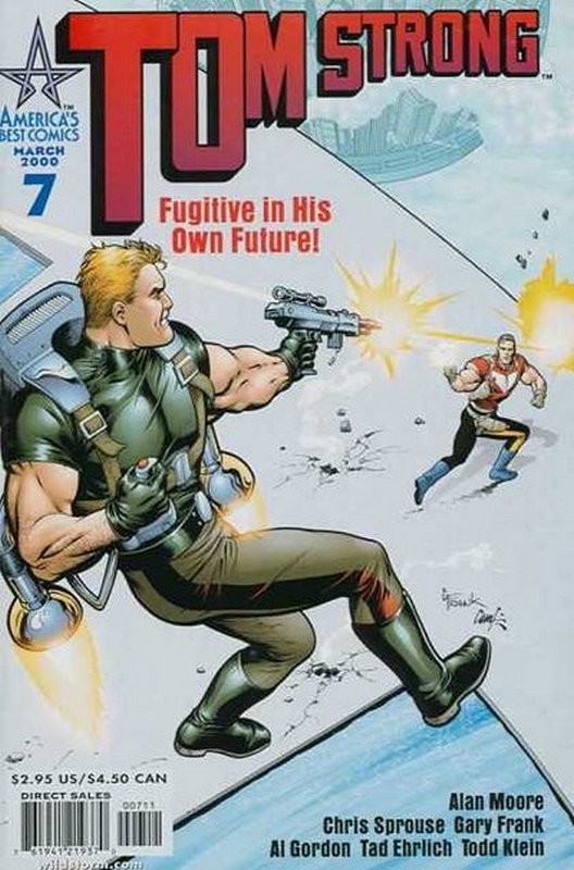 Cover of Tom Strong (Vol 1) #7. One of 250,000 Vintage American Comics on sale from Krypton!