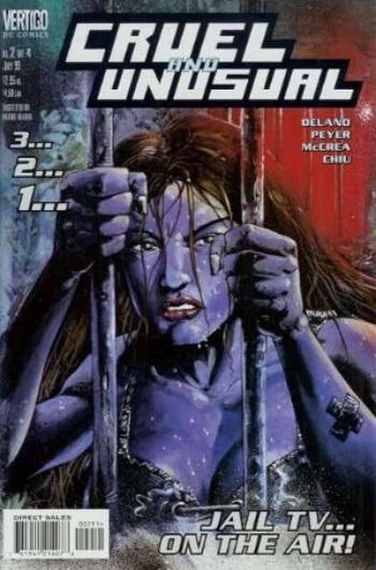 Cover of Cruel & Unusual (1999 Ltd) #2. One of 250,000 Vintage American Comics on sale from Krypton!