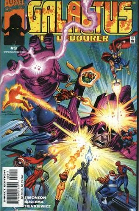 Cover of Galactus the Devourer (1999 Ltd) #3. One of 250,000 Vintage American Comics on sale from Krypton!