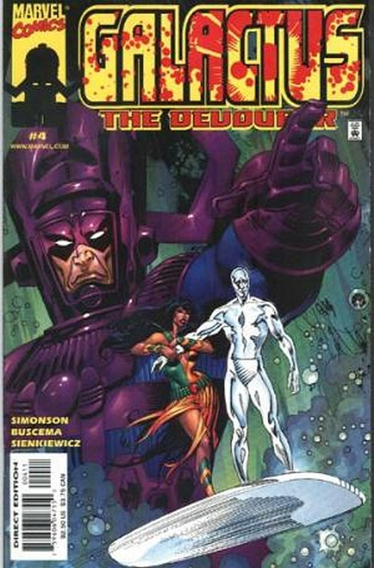 Cover of Galactus the Devourer (1999 Ltd) #4. One of 250,000 Vintage American Comics on sale from Krypton!