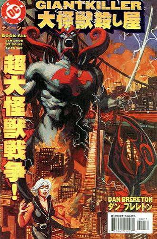 Cover of Giantkiller (1999 Ltd) #6. One of 250,000 Vintage American Comics on sale from Krypton!