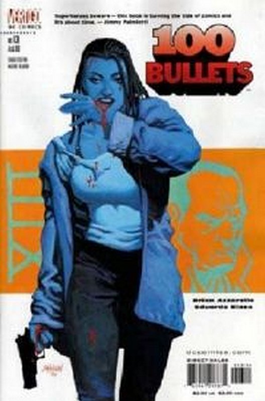 Cover of 100 Bullets #13. One of 250,000 Vintage American Comics on sale from Krypton!