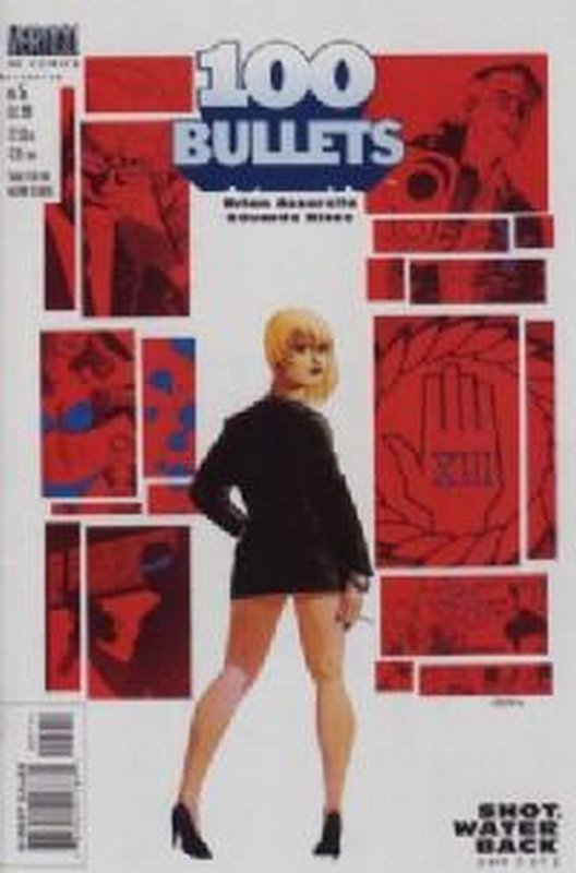 Cover of 100 Bullets #5. One of 250,000 Vintage American Comics on sale from Krypton!