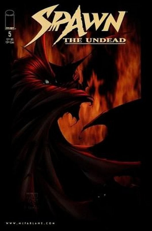 Cover of Spawn The Undead (Vol 1) #5. One of 250,000 Vintage American Comics on sale from Krypton!